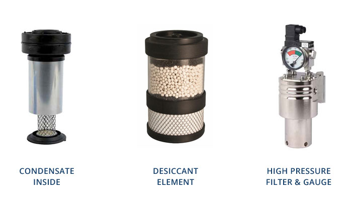 Process industry filtration elements