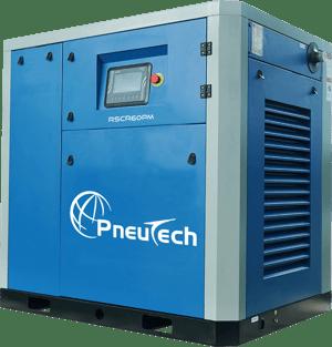 PneuTech VSD air compressor with permanent magnet