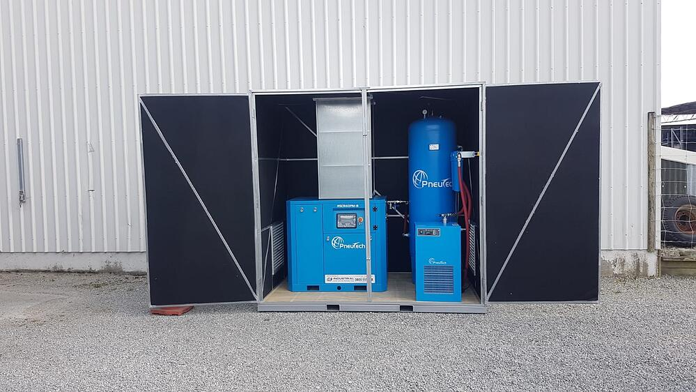 EncloseAir compressed air system