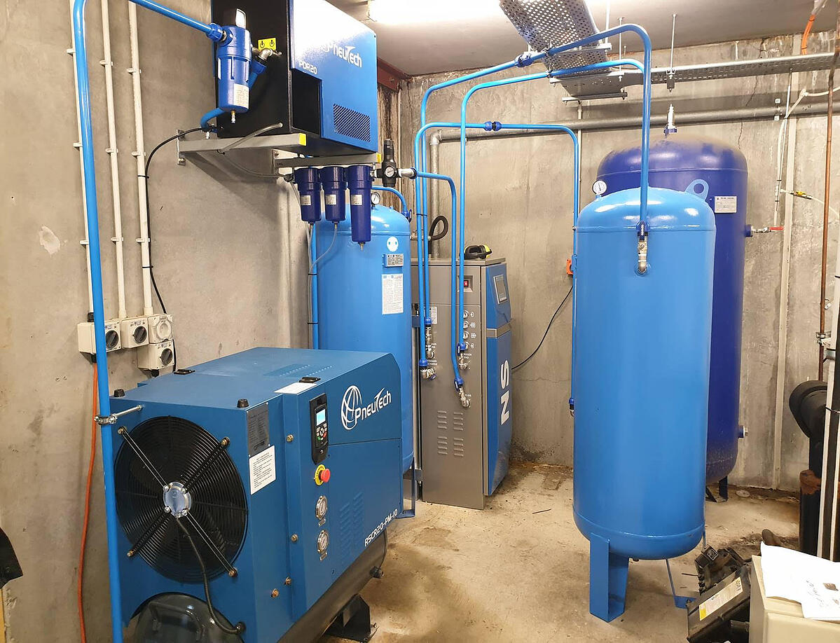 Mission Estate compressed air system