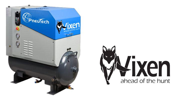 Vixen rotary screw air compressor