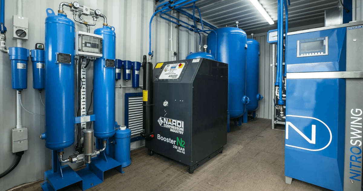A new nitrogen generation system for a gas supplier