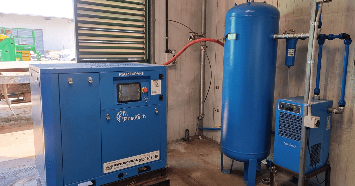 See how we worked with this engineering company to provide a new compressor system