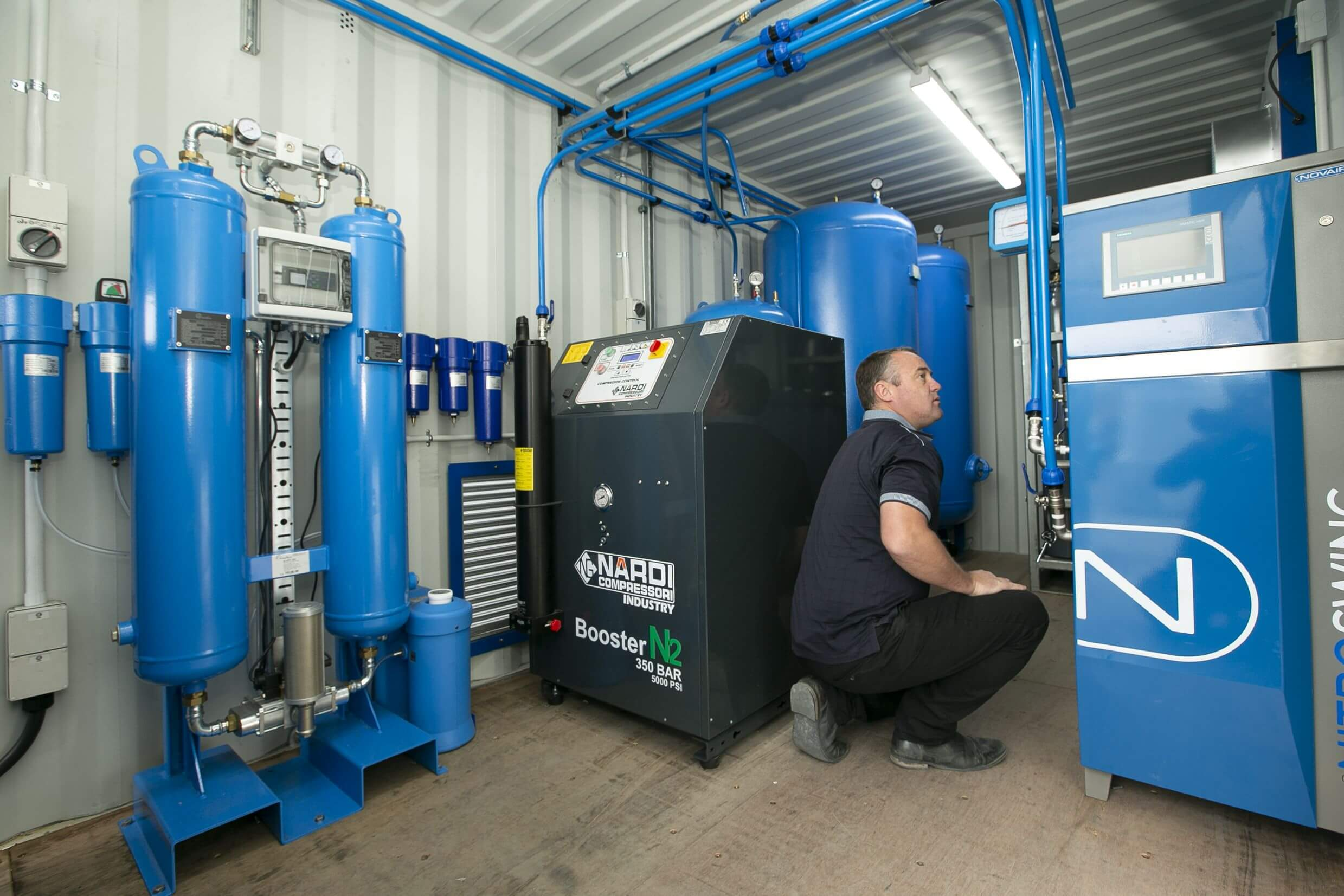 Industrial Air Systems 24/7 support